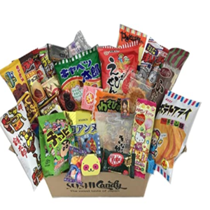 japanische Süßigkeiten dagashi