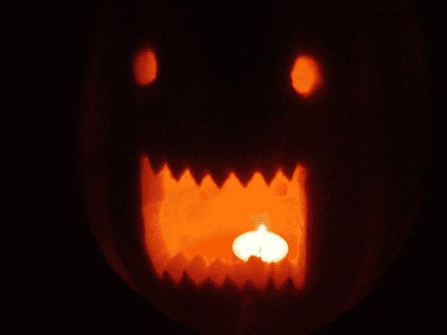 Halloween Deko Kürbis